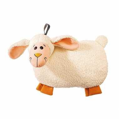 Rubberen pluche schapen kruik